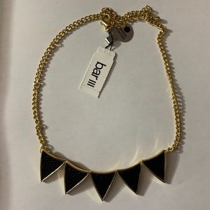 Black and Gold Statement Necklace NEW WITH TAGS